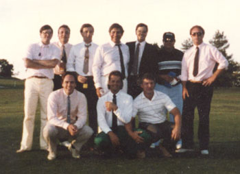 22 Club Championships in this 1980's photo