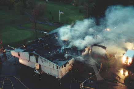 SFCC Clubhouse Fire of 1999