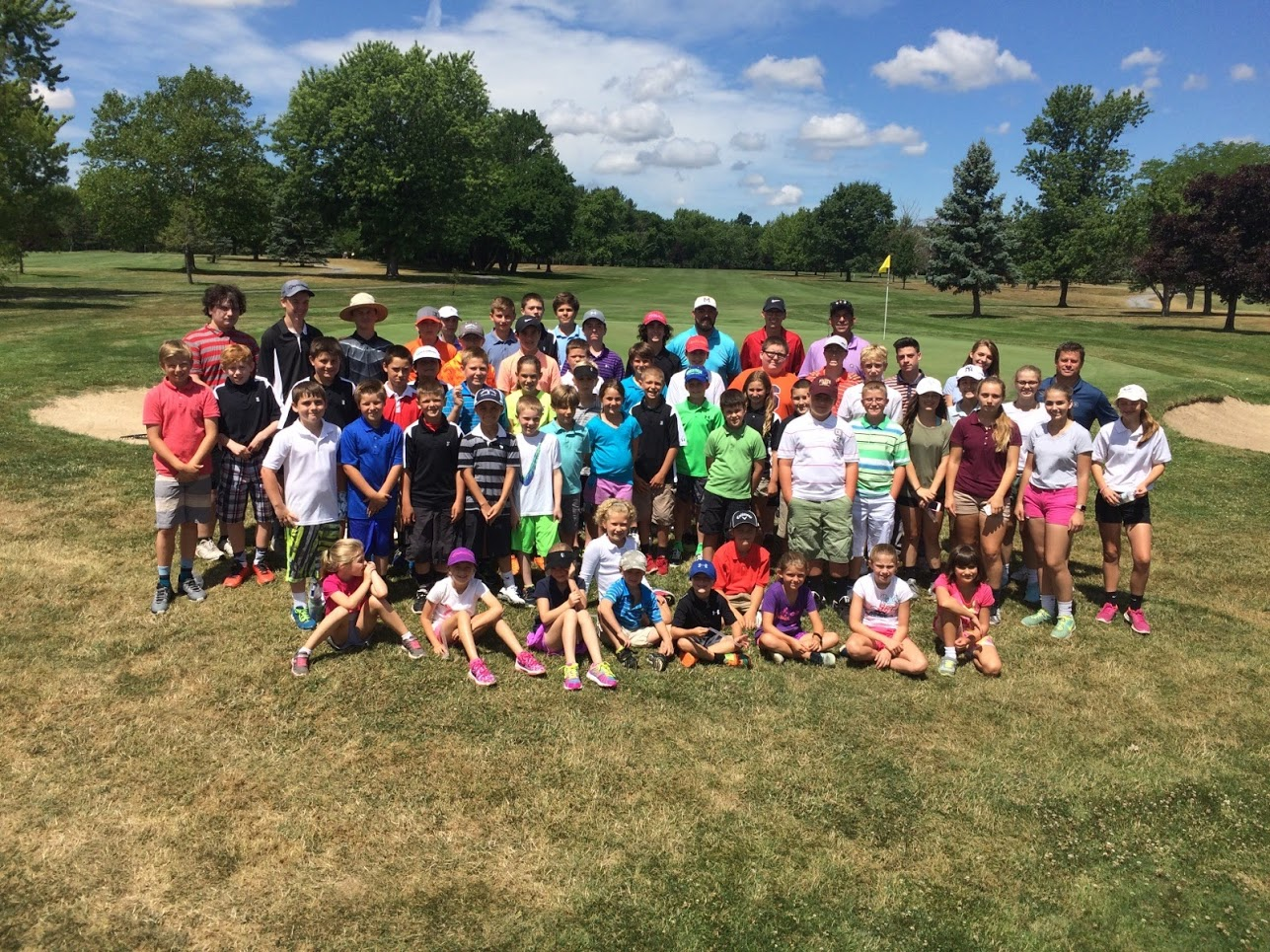 2016 Junior Golf Camp of the Finger Lakes at SFCC a big success