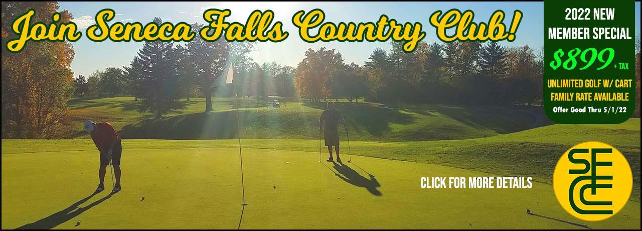 Join Seneca Falls Country Club